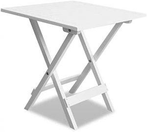 mesa plegable madera blanca 1